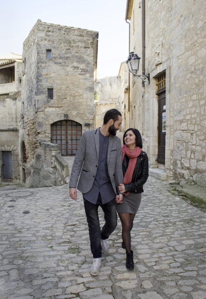 travel couple portrait