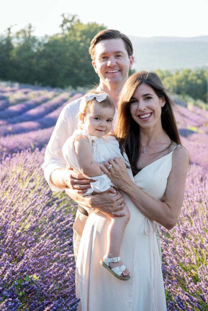 lavender family portrait