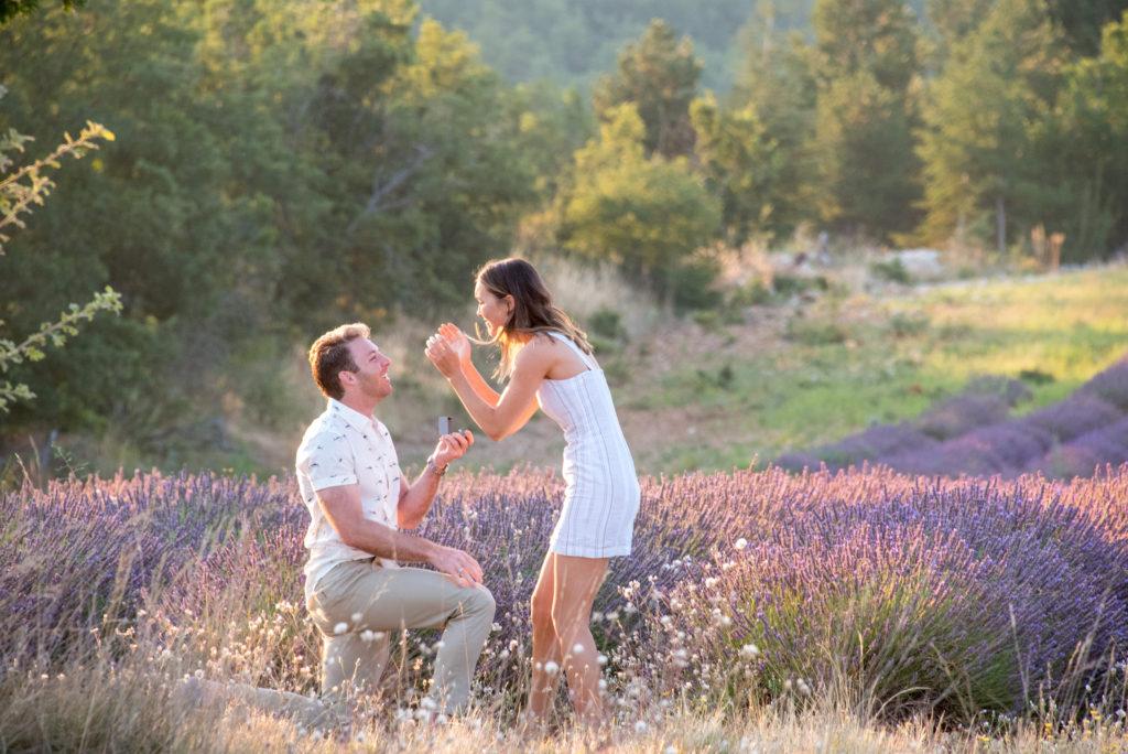 lavender proposal provence