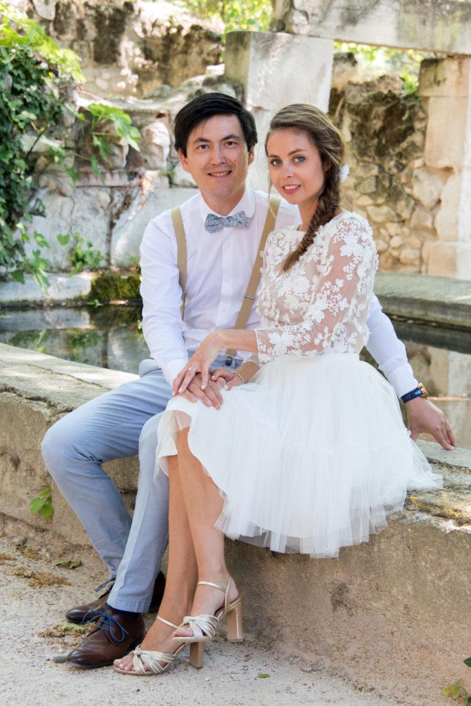 wedding photo les baux de provence